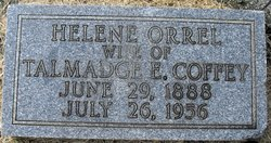 Helen E. Lena <i>Orrel</i> Coffey