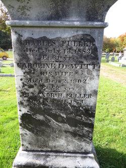 Caroline <i>DeWitt</i> Fuller