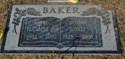 Sidney Lee Baker