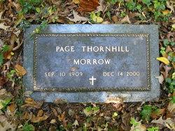 Dora Page <i>Thornhill</i> Morrow