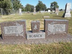 Gertrude <i>Barnett</i> Boback