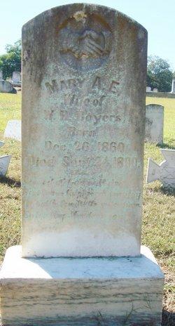 Mary A E Boyers