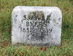 Sarah E. Byers