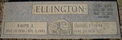 Ralph Lee Ellington