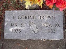 E Corine Brown
