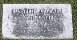 Elizabeth <i>Caldwell</i> Leatherwood
