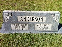 Marie <i>Bailey</i> Anderson