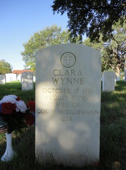 Clara <i>Wynne</i> Dichmann