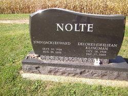 Delores Jean Dee <i>Klingman</i> Nolte