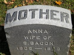 Anna <i>Earp</i> Bacon