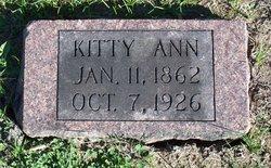 Catherine Ann Kitty <i>Hilt</i> Adams