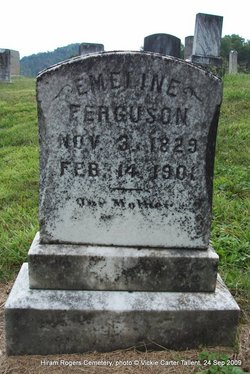 Emeline <i>Rogers</i> Ferguson