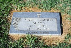 Novie Omi <i>Chambers</i> Adams