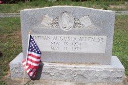 Nathan Agusta Allen, Sr