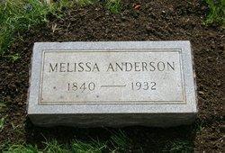 Melissa <i>Atchison</i> Anderson