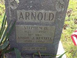 Annie Josephine <i>Kettell</i> Arnold