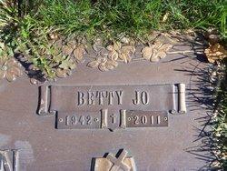 Betty Jo <i>Allman</i> Wilson