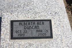 Alberta B <i>Mayfield</i> Duncan