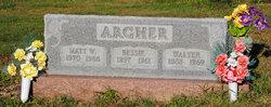 Bessie <i>Mayes</i> Archer