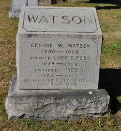 Lucy E <i>Foss</i> Watson