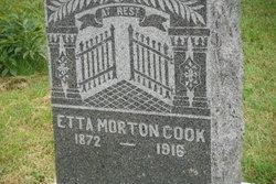 Etta <i>Morton</i> Cook