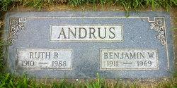 Ruth Rawlins <i>Brown</i> Andrus