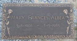 Mary Frances Albea