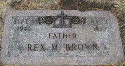Rex Morton Brown