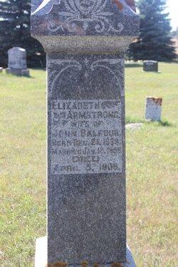 Elizabeth <i>Armstrong</i> Balfour