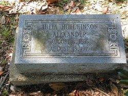 Julia <i>Hutchinson</i> Alexander
