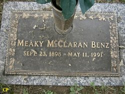 Meaky <i>McClaran</i> Benz