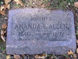 Amanda E. <i>Carpenter</i> Allen