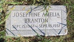 Josephine Amelia <i>Russell</i> Branton