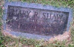 Mary R Shaw