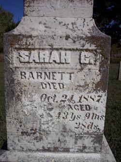 Sarah Catherine <i>Clark</i> Barnett