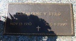 Geraldine <i>Vinzant</i> Byrd