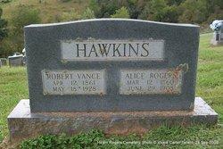 Martha Alice <i>Rogers</i> Hawkins