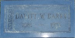 Davitt W. Barry