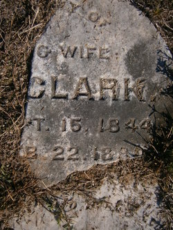 Eliza Ann <i>Felker</i> Clark