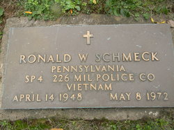 Ronald Walter Ronnie Schmeck