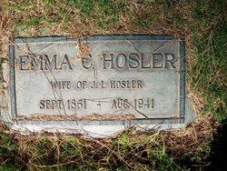 Emma C <i>Warner</i> Hosler