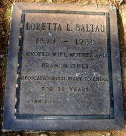 Loretta Dora <i>Lash</i> Baltau