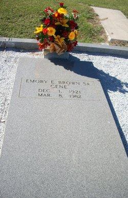 Emory E. Gene Brown, Sr