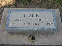 Mary Isabel Belle <i>Womack</i> Leslie
