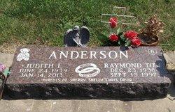 Judith L. Judy <i>Wickman</i> Anderson