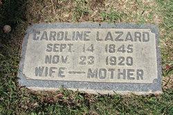 Caroline <i>Newmark</i> Lazard