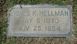 Agnes <i>Kremer</i> Hellman