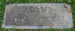 Matthew D. Adams