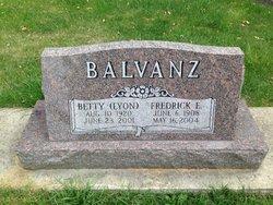 Betty <i>Lyon</i> Balvanz