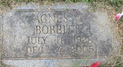 Agnes C Bobbitt